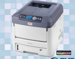 Impressora OKI C711WT A4 – Toner Branco