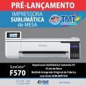 Pré Lançamento Impressora Sublimática de Mesa Epson SureColor F570 – 61cm – A1