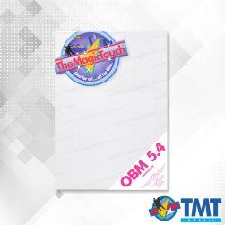 OBM 5.4 A4 – Transfer para impressora Laser para tecidos coloridos