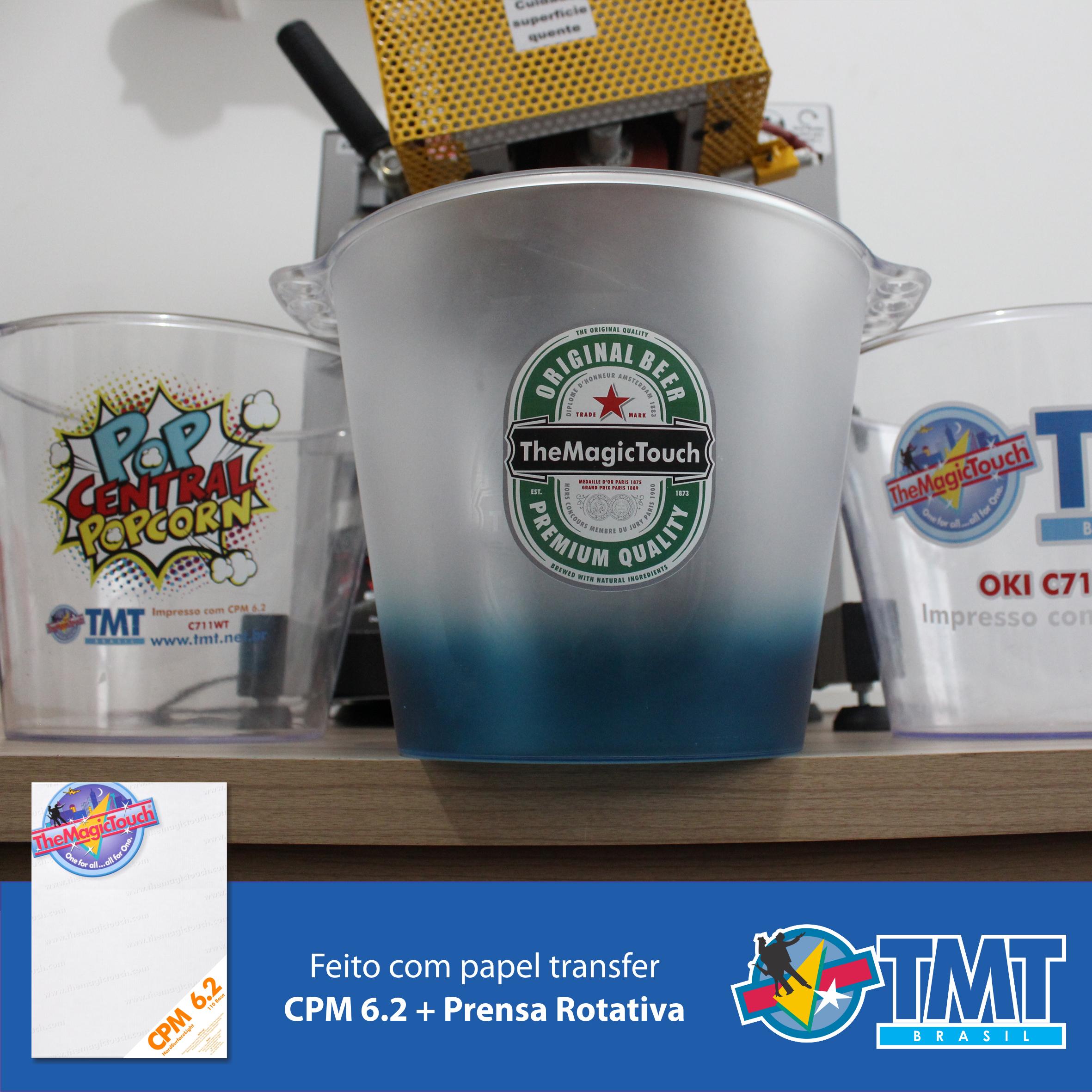 Copos Canecas baldes Squezes de Plastico + Toner branco + CPM 6.2